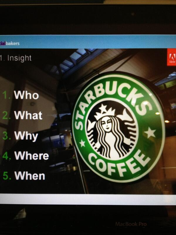 Starbucks' Simple Social Strategy